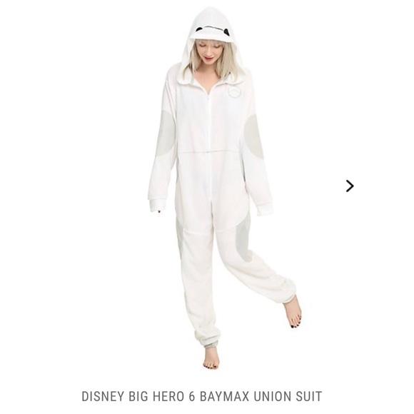 4b8b872f2 Disney Intimates & Sleepwear | Baymax Onesie Size Sm | Poshmark